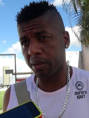 Audálio CRB (Foto: Viviane Leão/GloboEsporte.com)