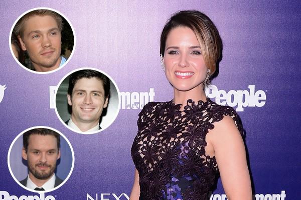 Sophia Bush, Chad Michael Murray, James Lafferty e Austin Nichols (Foto: Getty Images)