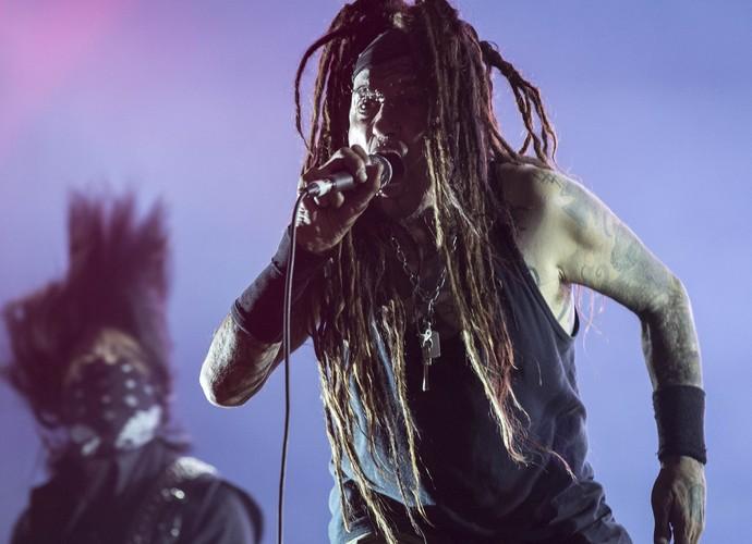 Ministry com Burton C. Bell (Fear Factory) (Foto: Inácio Moraes / Gshow)