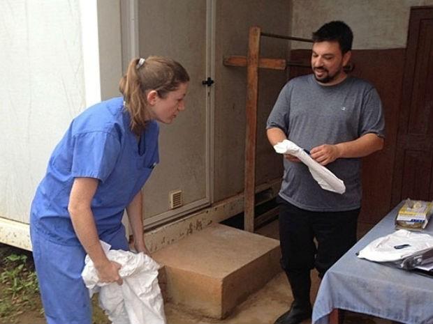 Médico atendia cerca de 50 pessoas por dia em Kenema. (Foto: OMS/Arquivo)