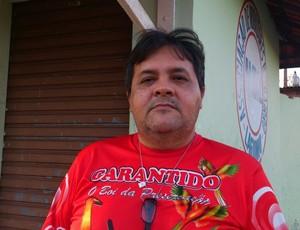 Francis Moura - ex conselheiro São Raimundo (Foto: Weldon Luciano/GloboEsporte.com)