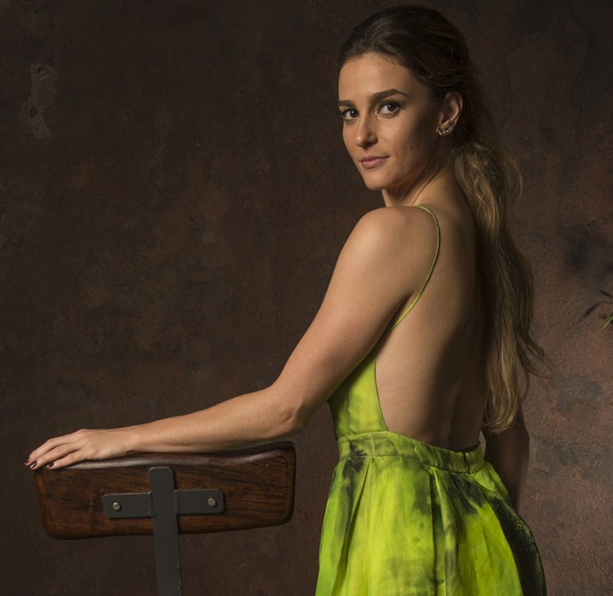 Priscila Steinman vive personagem sedutora capaz de tudo para conseguir o que deseja (Foto: Globo/Estevam Avellar)