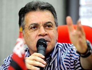 Paulo Pelaipe coletiva Flamengo (Foto: Fernando Azevedo / Fla Imagem)