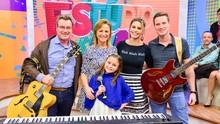 Rafa Gomes canta música autoral feita em família. Confira! (Priscilla Fiedler/RPC)