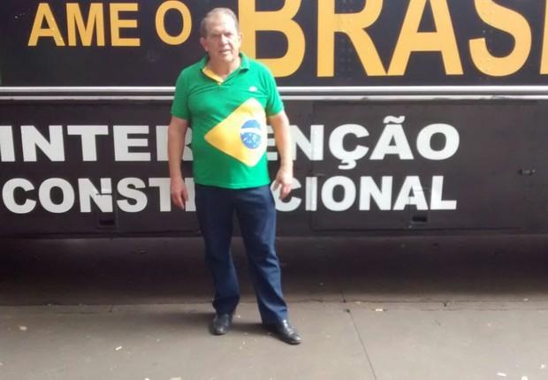 """O ex-empresário Ronaldo Ferreira, que gosta de ser chamado de """"Ronaldo Brasileiro"""" (Foto: Marcos Coronato/ÉPOCA)"""