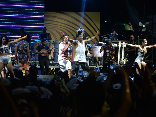 É o Tchan em show em Salvador, na Bahia (Foto: Max Haack/ Ag. Haack)