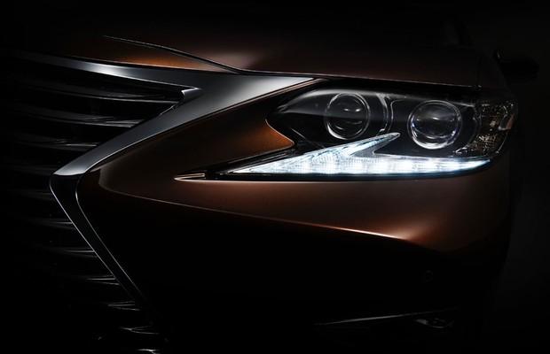 Teaser do Lexus ES 2016 (Foto: Divulgação)