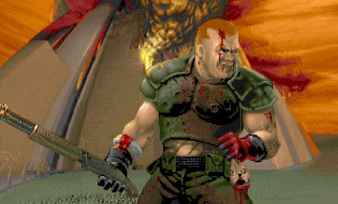 O protagonista Doomguy em sua versão The Ultimate Doom (Foto: knowyourmeme.com)