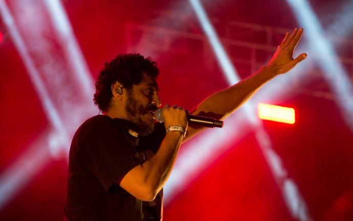 Criolo fechou os 15 anos do João Rock 2016 (Foto: Érico Andrade/Gshow)