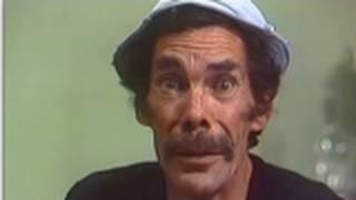 A morte de Seu Madruga (Foto: Reprodução/YouTube/Chaves)