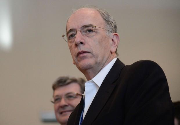 O presidente da Petrobras, Pedro Parente (Foto: Fernando Frazão/Agência Brasil)