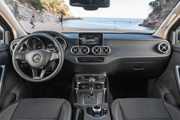 Mercedes-Benz Classe X (Foto: Divulgação)
