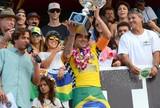 """M�e de Gabriel Medina acredita que o filho serve de """"esperan�a para Brasil"""""""