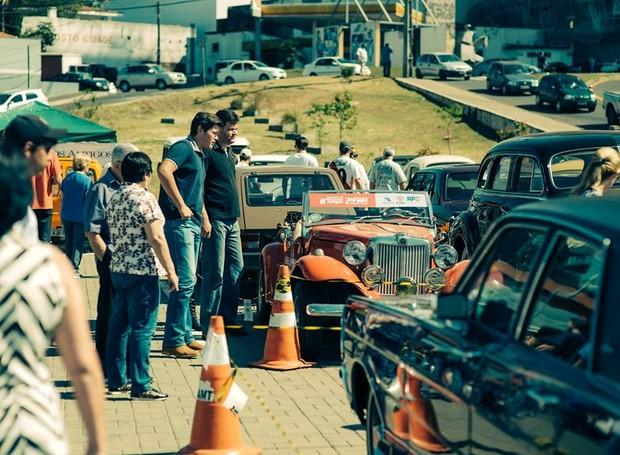 12º Encontro de Caminhões e Carros Antigos (Foto: Reproduçaõ/RPC)