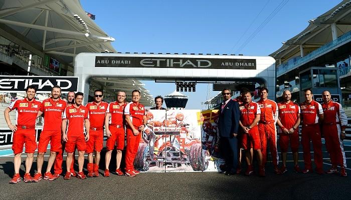 Ferrari prêmio melhor pit stop