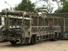 Polícia prende suspeitos de incendiar ônibus em Castanhal, PA