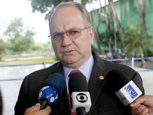O ministro Edson Fachin, relator da ação que questiona o rito do impeachment no STF