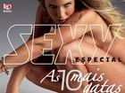 Completamente nua, Joana Machado é capa de edição especial da 'Sexy'