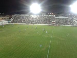 Salgueiro e Porto-PE se enfrentaram no Cornélio de Barros  (Foto: Jadir Souza/TV Grande Rio)