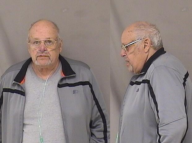Idoso de 77 anos foi preso por assaltar banco nos EUA (Foto: Alamogordo Police Department/AP)