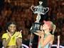 Serena erra muito, Kerber surpreende e é campeã do Aberto da Austrália