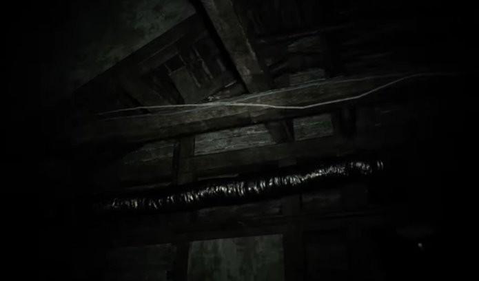 Locais espalhados pela demo de Resident Evil 7 indicam assassinatos realizados pelos Baker (Foto: Reprodução/Felipe Demartini)