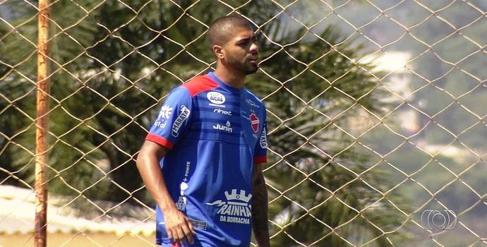 Christiano - lateral do Vila Nova (Foto: Reprodução / TV Anhanguera)