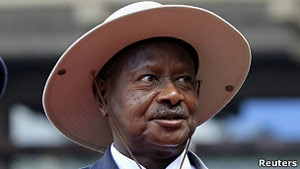 O presidente de Uganda, Yoweri Museveni (Foto: Reuters)