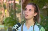 Djenifer Becker fala da experiência em dois amistosos na seleção brasileira