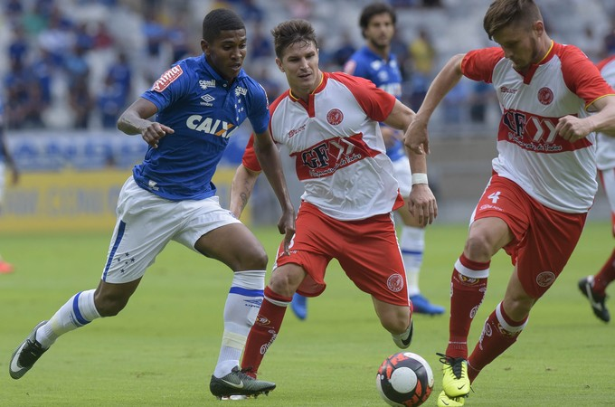 Raniel; Cruzeiro; Tricordiano (Foto: Washington Alves/Light Press)