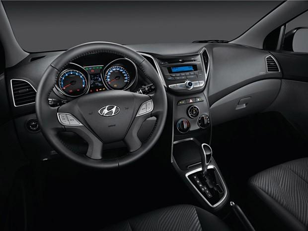 Interior do Hyundai HB20 (Foto: Divulgação)
