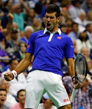 Novak Djokovic na final do US Open 2015 (Foto: Getty Images)