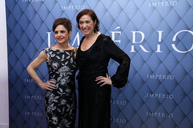 Drica Moraes e Lilia Cabral (Foto: Felipe Assumpção e Felipe Panfili/AgNews)