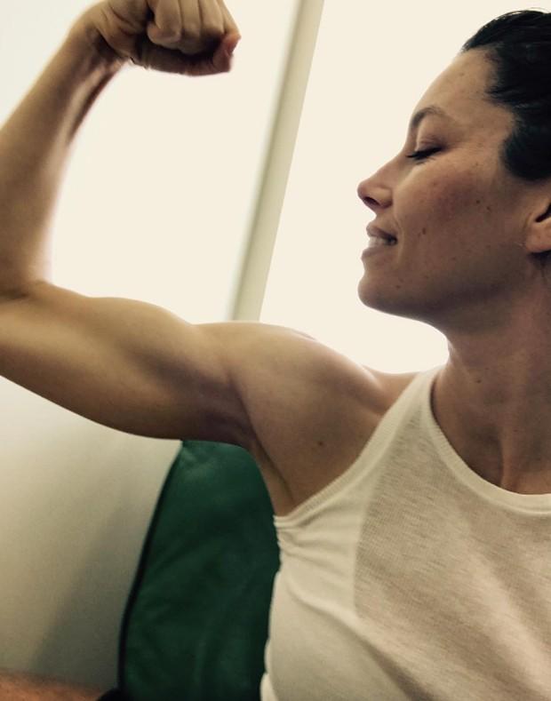 Jessica Biel (Foto: Reprodução/Instagram)