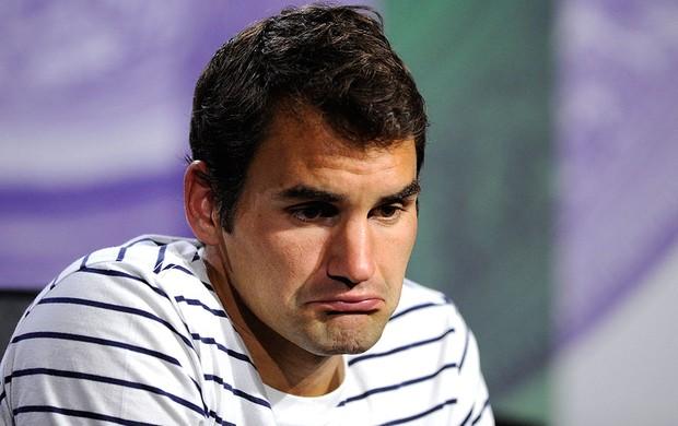 Roger Federer derrota coletiva tênis (Foto: AP)