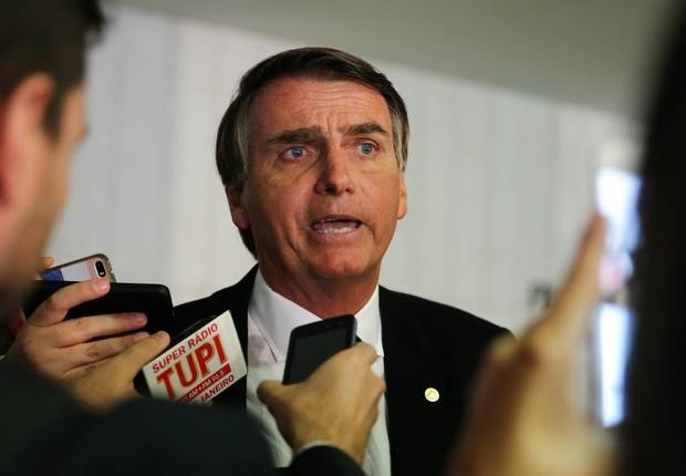 O deputado federal Jair Bolsonaro (PSC-RJ) (Foto: Agência Câmara)