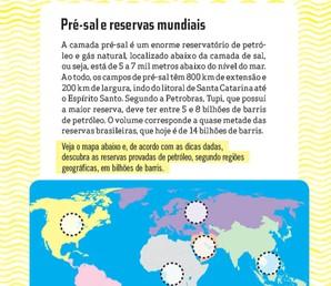 Pré Sal e Reservas Mundiais
