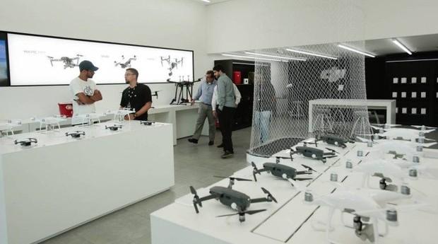 Inaugurada no BarraShopping, loja segue padrões exigidos pela gigante chinesa globalmente  (Foto: Reprodução)