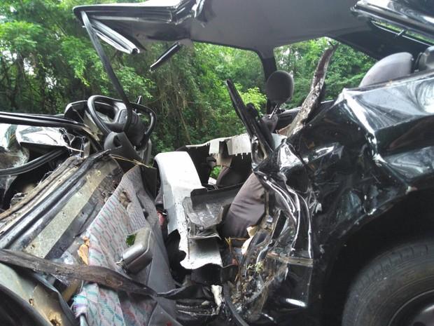 Acidente na ERS-122 deixa uma pessoa morta em Farroupilha (Foto: Divulgação/CRBM)