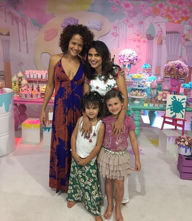 b4a2d7ea23 EGO - Aline Barros comemora aniversário de 5 anos da filha Maria ...