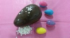 Açaí com tapioca vira recheio criativo de ovo (John Pacheco/G1)