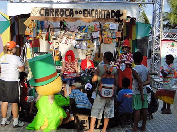 Fliportinho tem programação variada e gratuita em homenagem a Luiz Gonzaga. (Foto: Scritta / Divulgação)