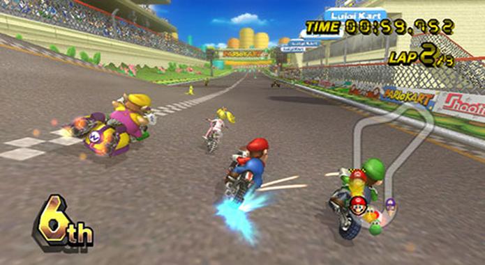 Mario Kart Wii é um dos jogos mais vendidos da história (Foto  Divulgação  3e866b1fd3