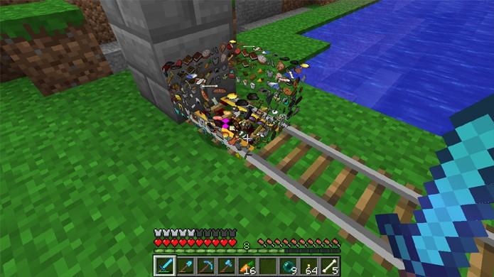 Versões Snapshot de Minecraft têm novidades, mas também bugs (Foto: Reprodução/Reddit)