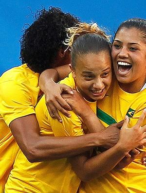 maurine tania thais Seleção feminina futebol brasil x argentina pan (Foto   ... 631ffe0a9e1