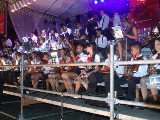 Crianças e adolescentes são parte de projeto social (Foto: Divulgação / Ascom Cabo Frio)
