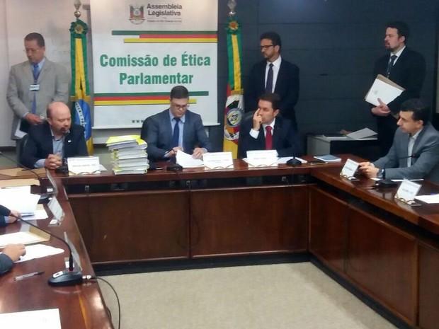 Comissão de Ética Parlamentar, Assembleia Legislativa, deputado Mário Jardel, cassação (Foto: João Laud/RBS TV)