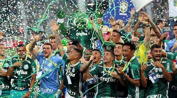 O Palmeiras foi um dos times que firmou parceria com o Snapchat (Foto: Divulgação)