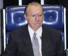 Sarney piora e é transferido para UTI de hospital (José Cruz/Agência Senado)