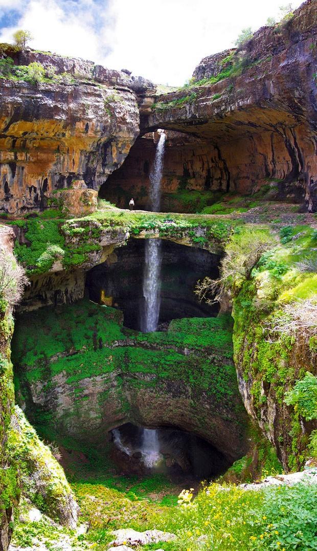 Cachoeira Baatara (Foto: reprodução)